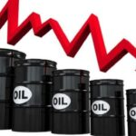 A stronger economic outlook lifts crude oil but pulls down gold